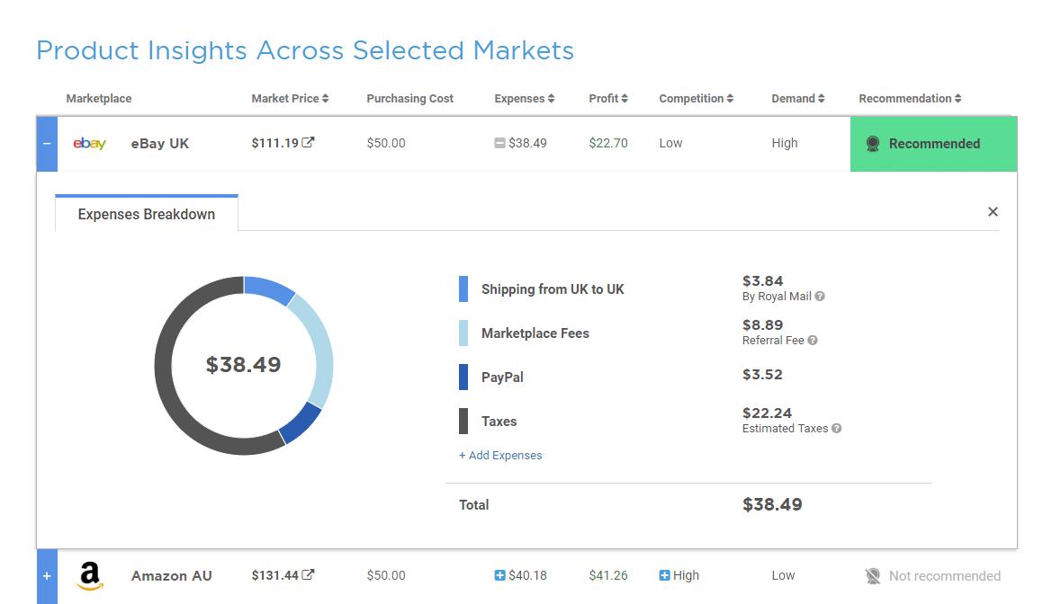 Ebay Uk Seller Tool Algopix