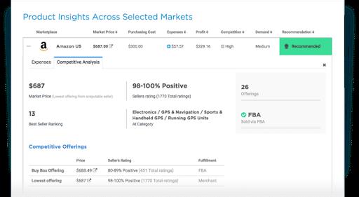 Algpopix product sourcing tool