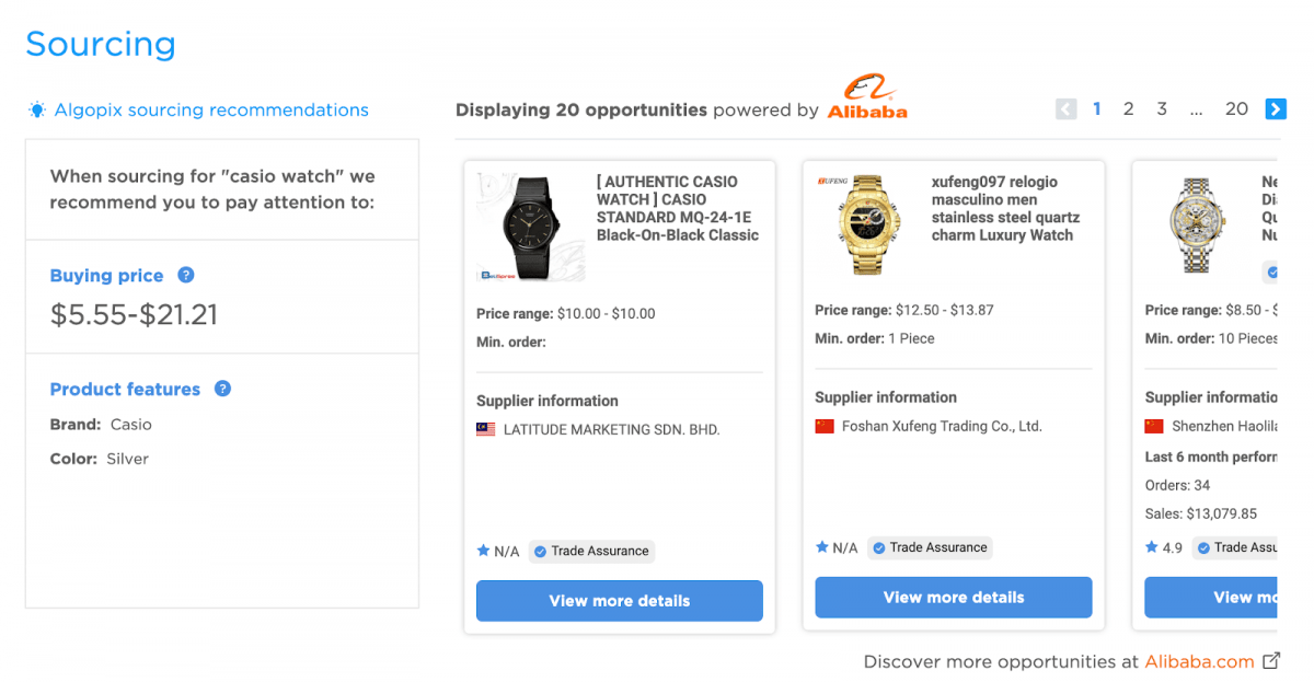 Algopix & Alibaba Integration Brings Sellers and Suppliers Together